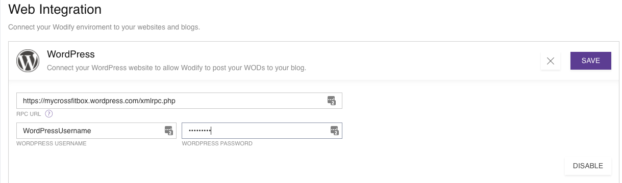 Help Center - How do I set up WordPress blog integration