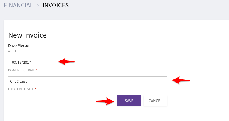 help center how do i create an invoice wodify
